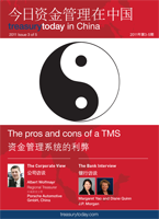 Treasury Today China issue 3 magazine cover