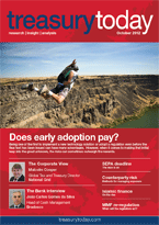 Treasury Today October 2012 magazine cover