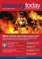 Treasury Today November/December 2012 magazine cover