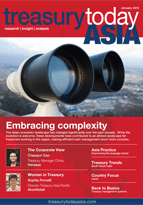 Treasury Today Asia January 2013 magazine cover