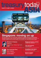 Treasury Today Asia May 2013 magazine cover