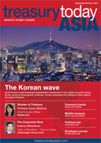 Treasury Today Asia September 2013 magazine cover