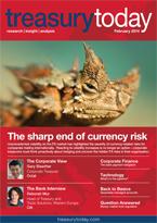 Treasury Today February 2014 magazine cover