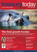 Treasury Today March 2014 magazine cover