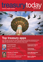 Treasury Today April 2014 magazine cover