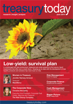 Treasury Today June 2014 magazine cover