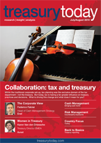 Treasury Today July/August 2014 magazine cover