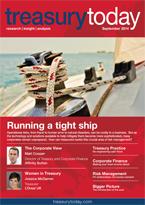 Treasury Today September 2014 magazine cover