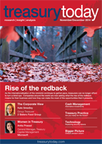 Treasury Today November/December 2014 magazine cover