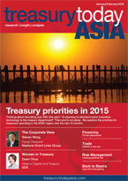 Treasury Today Asia January/February 2015 magazine cover
