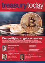 Treasury Today February 2015 magazine cover