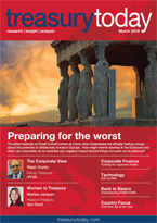 Treasury Today March 2015 magazine cover