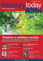 Treasury Today Asia September/October 2015 magazine cover