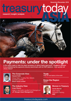 Treasury Today Asia November/December 2015 magazine cover
