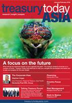 Treasury Today Asia January/February 2016 magazine cover