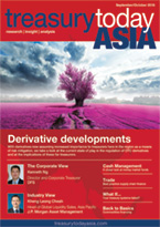 Treasury Today Asia September/October 2016 magazine cover