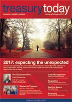 Treasury Today January/February 2017 magazine cover
