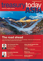 Treasury Today Asia January/February 2017 magazine cover