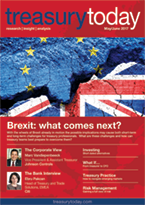 Treasury Today May/June 2017 magazine cover