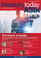 Treasury Today Asia November/December 2017 magazine cover
