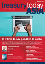 Treasury Today Asia May/June 2018 magazine front cover