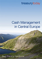 Cover of treasurytoday Handbook: Cash Management in Cnetral Europe