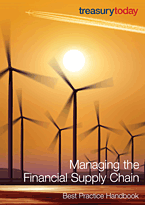Cover of treasurytoday Handbook: Managing the Financial Supply Chain