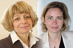 Marie-Laurence Faure, Head of Electronic Banking Channels and Karine Amas, eBAM Product Manager, BNP Paribas