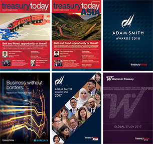 Bunch of Treasury Today publications