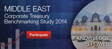 Middle East Corporate Treasury Benchmarking Study 2014 - Participate now!