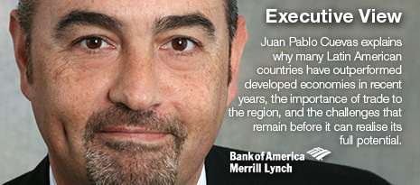 Executive View, Juan Pablo Cuevas, Bank of America Merrill Lynch