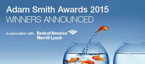Adam Smith Awards 2015 in association with Bank of America Merrill Lynch