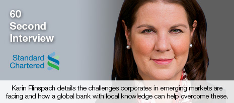 Karin Flinspach, Head, Cash Products, Transaction Banking, Standard Chartered Bank