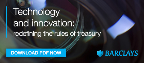 Barclays – Technology and innovation: redefining the rules of treasury supplement