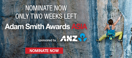 Adam Smith Awards Asia sponsored by ANZ – Nominate now, only two weeks left