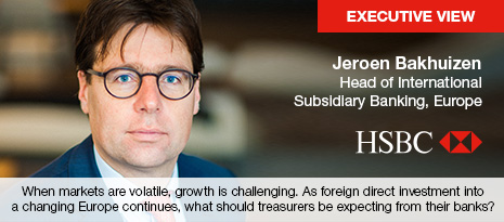 Executive View with Jeroen Bakuizen, Head of International Subsidiary Banking, Europe, HSBC
