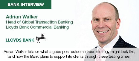Lloyds Bank Bank Interview with Adrian Walker