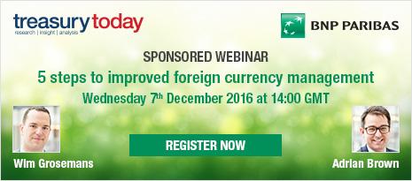 BNP Paribas Sponsored Webinar – 5 steps to improved foreign currency management – register now