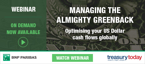 BNP Paribas webinar – Managing the almighty greenback, Optimising your US Dollar cash flows globally – watch on demand