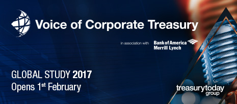 Voice of Corporate Treasury Global Study 2017 in association with Bank of America Merrill Lynch