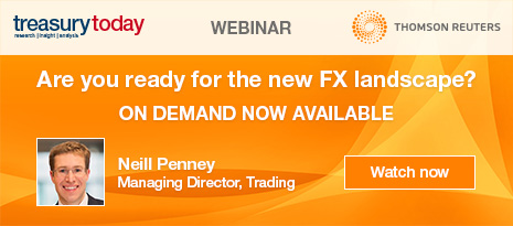 Thomson Reuters webinar – Are you ready for the new FX landscape? Watch on demand now