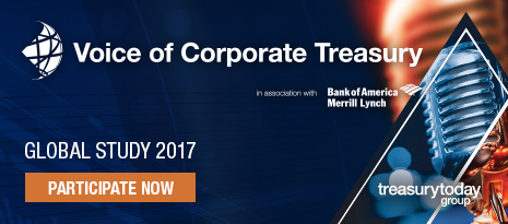 Voice of Corporate Treasury Global Study 2017 in association with Bank of America Merrill Lynch – Participate now