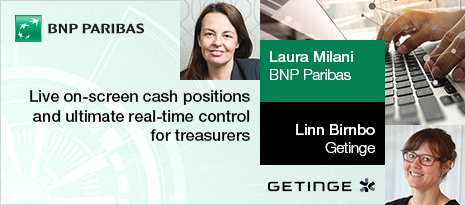 BNP Paribas – live on-screen cash positions and ultimate real-time control for treasurers