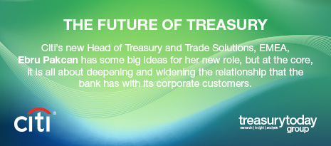 Treasury Today Group's Bank Interview with Citi – The future of treasury