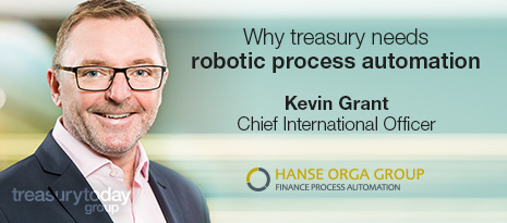 Hanse Orga Idustry View – Why treasury needs robotic process automation