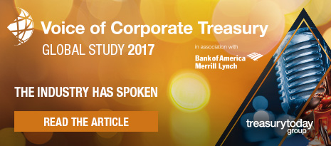 Voice of Corporate Treasury Global Study 2017 in association with BofAML – The industry has spoken – read the article