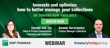 Treasury Today webinar with BNP Paribas – Innovate and optimise: how to better manage your collections – watch on demand now