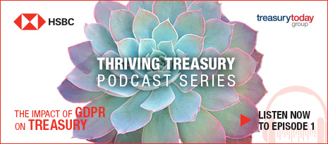 HSBC Thriving Treasury Podcast Series: The impact of GDPR on treasury – listen now to episode 1
