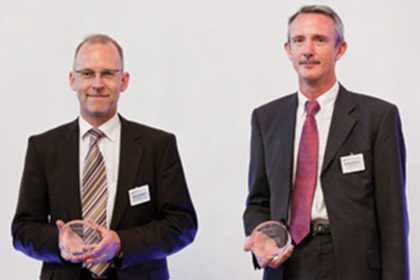 Martin Schlageter and Bernhard Henseler, Deutsche Bank