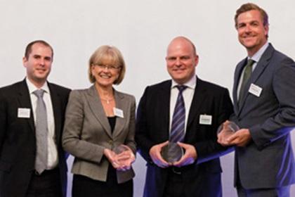 Lonnie Cahoon and Carole Berndt, Bank of America Merrill Lynch, Lars Thulstrup Bruhn and Patrik Havander, SEB